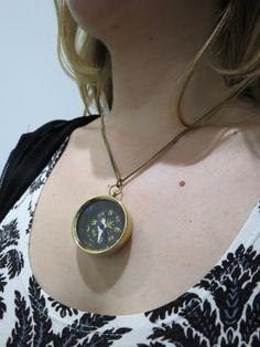 #endossa, #augusta, #casual, #presente, #gift, #colar, #colares, #necklace, #bijous, #bijouteria, #bussola, #fashion