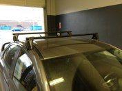 Mitsubishi EVO with a Yakima roof rack system Racking System, Roof Rack, Evo