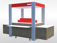Retail Mobil Unit (kiosques mobiles) pour Hammerson à destinations de galeries commerciales.