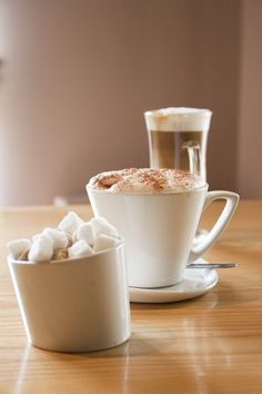 A selection of our coffees Yummy Drinks, The Selection, Pudding, Coffee, Tableware, Desserts, Food, Kaffee, Tailgate Desserts