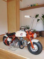 Cars And Motorcycles, Monkey, Engine, Honda, Mini, Awesome, Motorbikes, Monkeys, Motor Engine