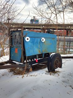 Toon Bombing: A Toronto Artist Turns Outdoor Objects into Googly Eyed Faces