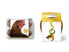Migros Selection on Packaging of the World - Creative Package Design Gallery Cool Packaging, Brand Packaging, Packaging Design, Chicken Eggs, Organic Recipes, The Selection, Private Brand, Creative Package, Archive