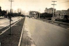 06-01-1959 - Avenida Doutor Arnaldo. Obras de alargamento, vista das proximidades da rua Galeno de Almeida em direção a rua Teodoro Sampaio.