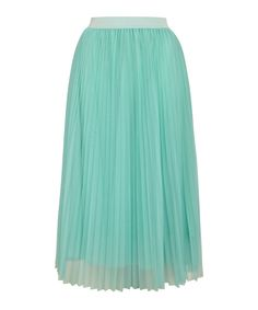 Betulla mint elastic waist midi skirt by Louche on secretsales.com