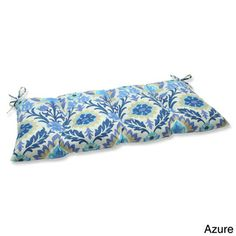 Pillow Perfect 'Santa Maria' Outdoor Loveseat Cushion | Overstock.com Shopping - Big Discounts on Pillow Perfect Outdoor Cushions & Pillows