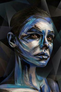 Avant Garde makeup creation