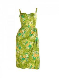 1950s wrap dress