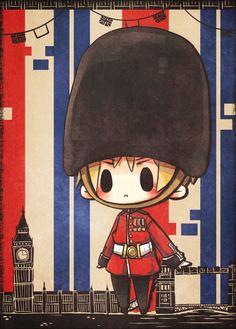 Tuma (TUMART), Axis Powers: Hetalia, United Kingdom, Clock Tower, Clock, Big Ben