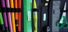 Klebekerlchen Namensetiketten zum Beschriften zum Start ins neue Schul- und Kitajahr – mit Verlosung (Werbung)