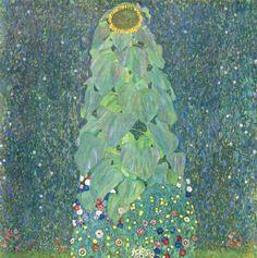 Klimt, Gustav: Die Sonnenblume