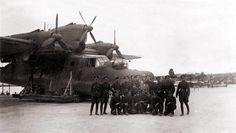 """enrique262: """"Blohm & Voss BV 138 Seedrache (dragón del mar) hidroavión trimotor, que se utiliza para la patrulla marítima, reconocimiento naval y la caza de minas a lo largo de la guerra. """""""