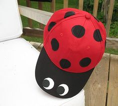 10 Simple, Fun & Crazy Hat Ideas – Red Tricycle On National Hat Day, or any day, your kids will go wild for these easy hat crafts. Crazy Hat Day, Crazy Hats, Bug Hats, Red Tricycle, Unicorn Hat, Ladybug Crafts, Ladybug Party, Silly Hats, Hat Crafts
