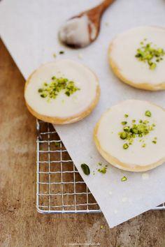 Rezept_Chai_ (German recipe). Orange cookies with pistachio )