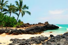 Makena Cove, Maui. This is the beach we are getting married on!