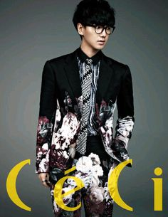 Yesung for CeCi Korea Magazine March 2013 Issue