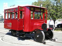 Ford Model T Rail Car, Pleasant Point by chrisbwah, via Flickr