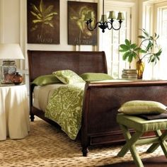 brown cream and green decor | Decorating With The Brown/ Lime Green Color Combination