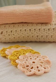 Crocheted coasters from: http://crochet.about.com/od/vintage/ss/aa052606.htm