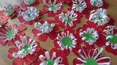 kokárdavirág papírból ... foltról foltra...: Március tizenötödike Diy Flowers, Art For Kids, March, Projects, Crafts, Preschool Classroom, September, Creative, Art For Toddlers