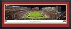 San Francisco 49ers Panoramic Picture - Levi's Stadium - Deluxe Frame $199.95