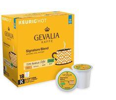 Keurig® K-Cup® Pack 18-Count Gevalia Kaffe Signature Blend Decaf, Free Shipping #Gevalia