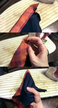 DIY Wedding Skinny Ties - << joeandcheryl.com >>
