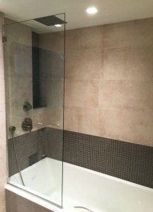 Splash Guard With Images Bathtub With Glass Door Glass