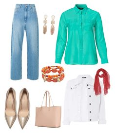 """""""Casual"""" by oespinal on Polyvore featuring moda, Ralph Lauren, Dorothy Perkins, Yves Saint Laurent, Dondup y plus size clothing"""