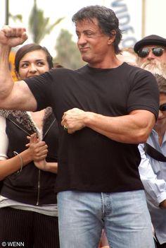 Jackie Stallone, Frank Stallone, Sage Stallone, Jennifer Flavin, Silvestre Stallone, Spy Kids 3, Brigitte Nielsen, Rocky Series, American Actors