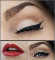 The Christmas cosmetic look we love