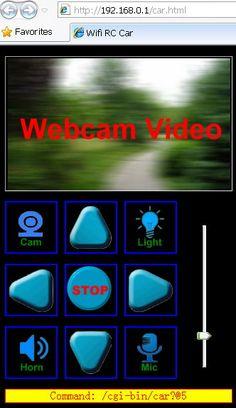 web interface