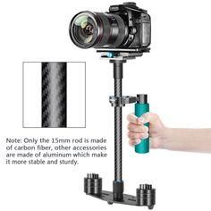 Alician Pro Camera Stabilizer Handheld Steadicam for Camcorder DS LR Gimbal Black