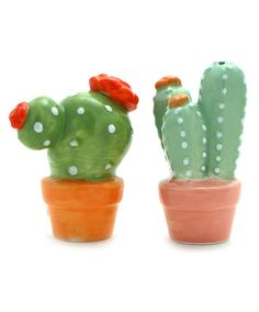 Cactus Salt and Pepper Shakers at Maverick Western Wear