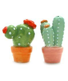 Cactus Salt and Pepper Shakers at Maverick Western Wear