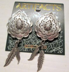 Vintage JJ Jonette Jewelry earrings  American by SideEffectsNY unworn!  SALE $18