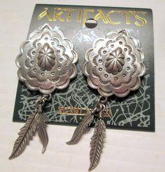 Vintage JJ Jonette Jewelry earrings  American by SideEffectsNY unworn!  SALE $18