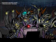 Shockwave and his kids