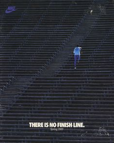 there is no finish line - nike