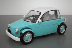 Yes, you read that correctly- CAR FOR KIDS. Toyota unveiled the Camatte this past weekend at the International Tokyo Toy Show. Toyota wants kids to dream of owning a car at a young age, so what bet… Microcar, Toyota Concept Car, Roadster, Smart Car, Pedal Cars, Cars Auto, Cute Cars, Car Humor, Electric Cars