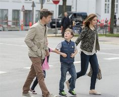 crown prince frederik and crown princess mary with christian and isabella