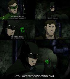 Justice League War - Batman pwns Green Lantern