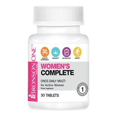 Women's Complete was clinically designed to deliver the specific nutrient needs of an active woman who wants to look and feel her absolute best, every day. Are you looking to simplify your daily dietary regimen while looking and feeling fantastic? Then Bronson ONE™ Women's Complete was designed for you. Bronson ONE™ Women's Complete was specially …