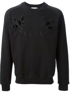 Carven cut out sweatshirt