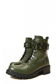 Twin Set Damen Boots Olive | SAILERstyle Twin Set, Trends, Elegant, Designer, Hiking Boots, Combat Boots, Shoes, Fashion, Bags