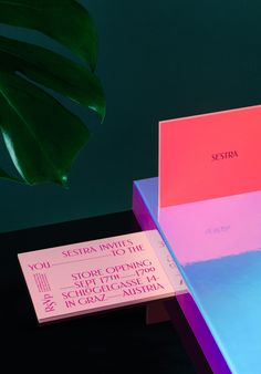 The invitation for the opening of Sestra, a concept store in Graz, Austria. Art Direction, Graphic Design & Retouching – Kristina BartosovaCopy – Thomas PokornPhotography – LippZahnschirm, www.lippzahnschirm.comHot Foil Stamping – The Infinitive Fact…