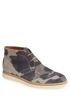 Modern Vintage 'Arnold' Camo Chukka Boot available at #Nordstrom