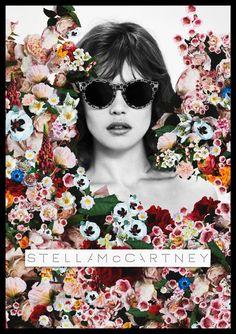 stella mccartney ss ete 2012 6 Stella McCartney Campagne Eté 2012 : Jardin de Fleurs et Collage