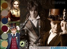 Steampunk - it's a very mechanical color palette http://wp.me/pK9I2-Wu