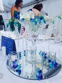 Martini vase Centre piece
